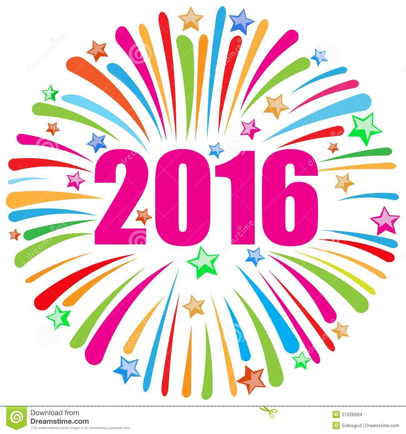 Happy new year 2016 available in vector format.