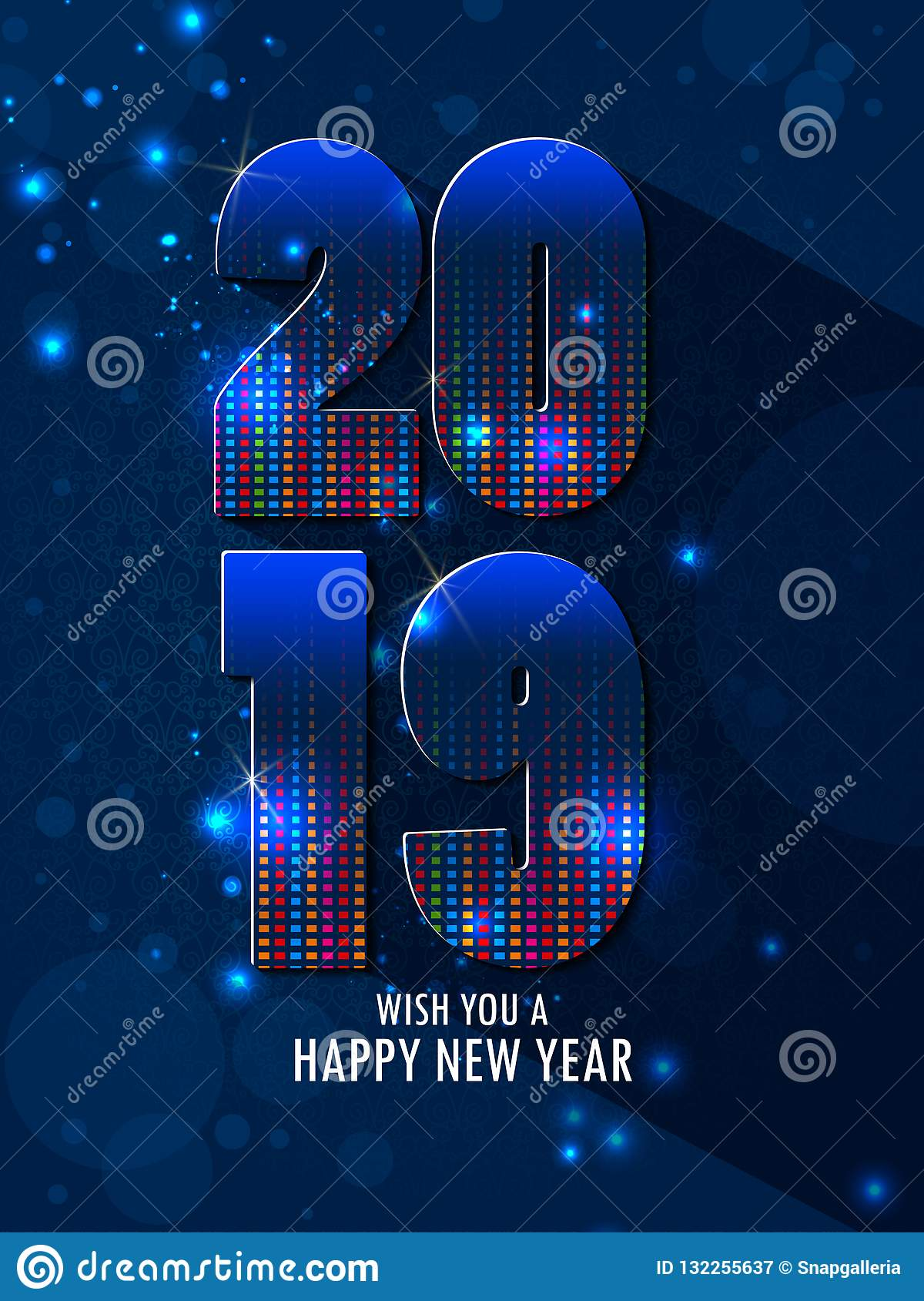 Happy New Year Editing Background 52