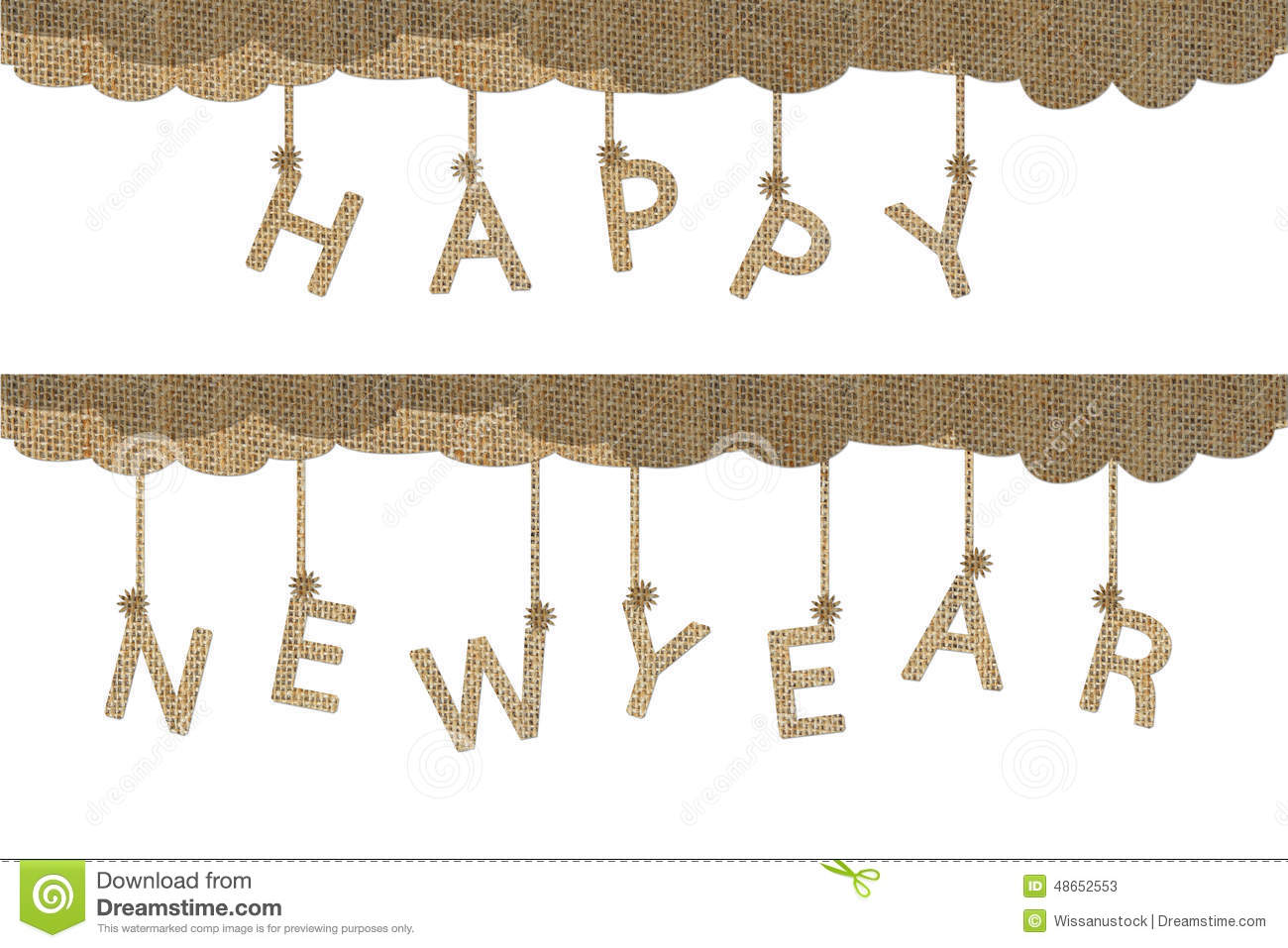 Happy new year words stock illustration. Illustration of christmas ...