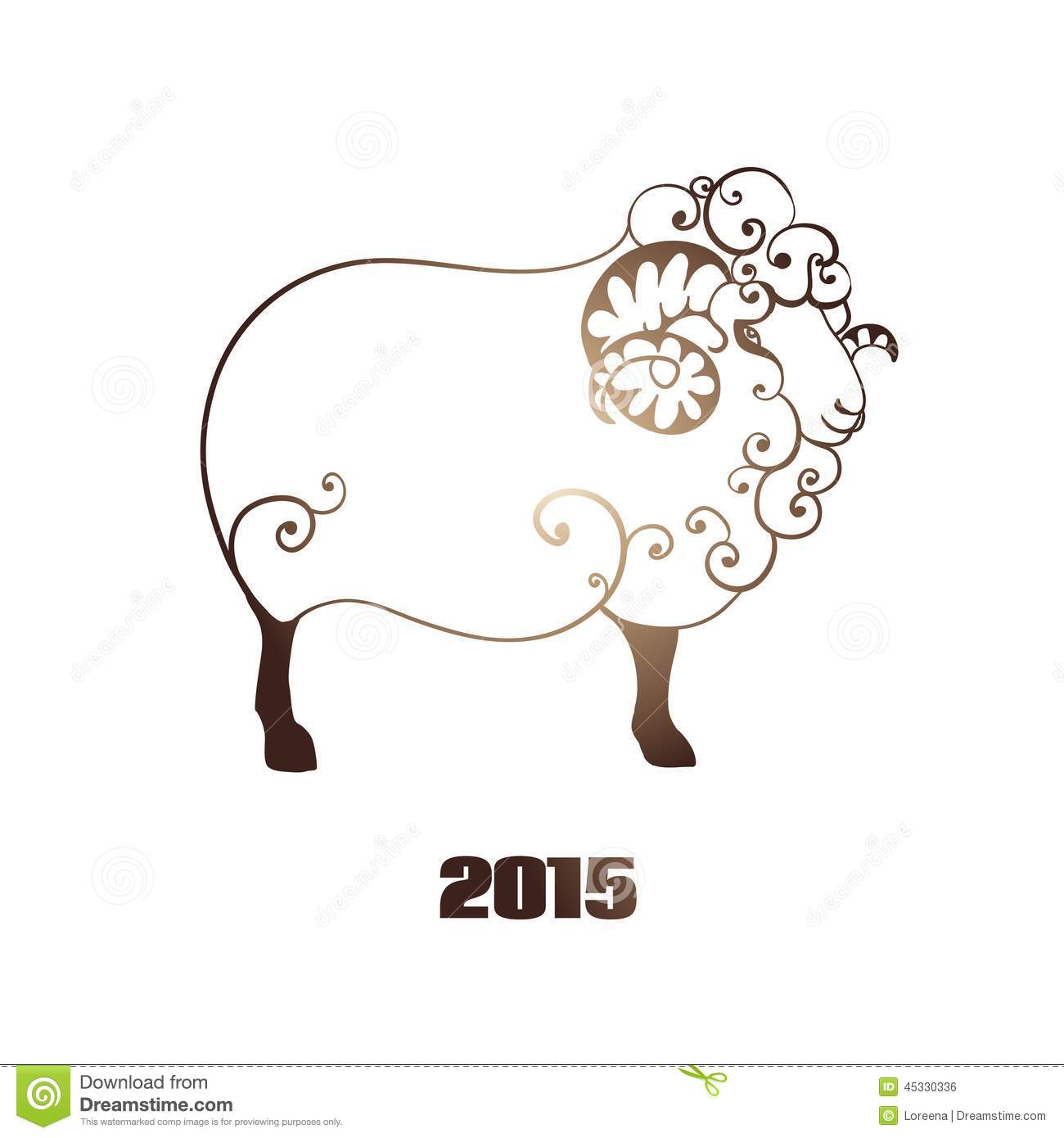 happy new year 2015 year of the sheep