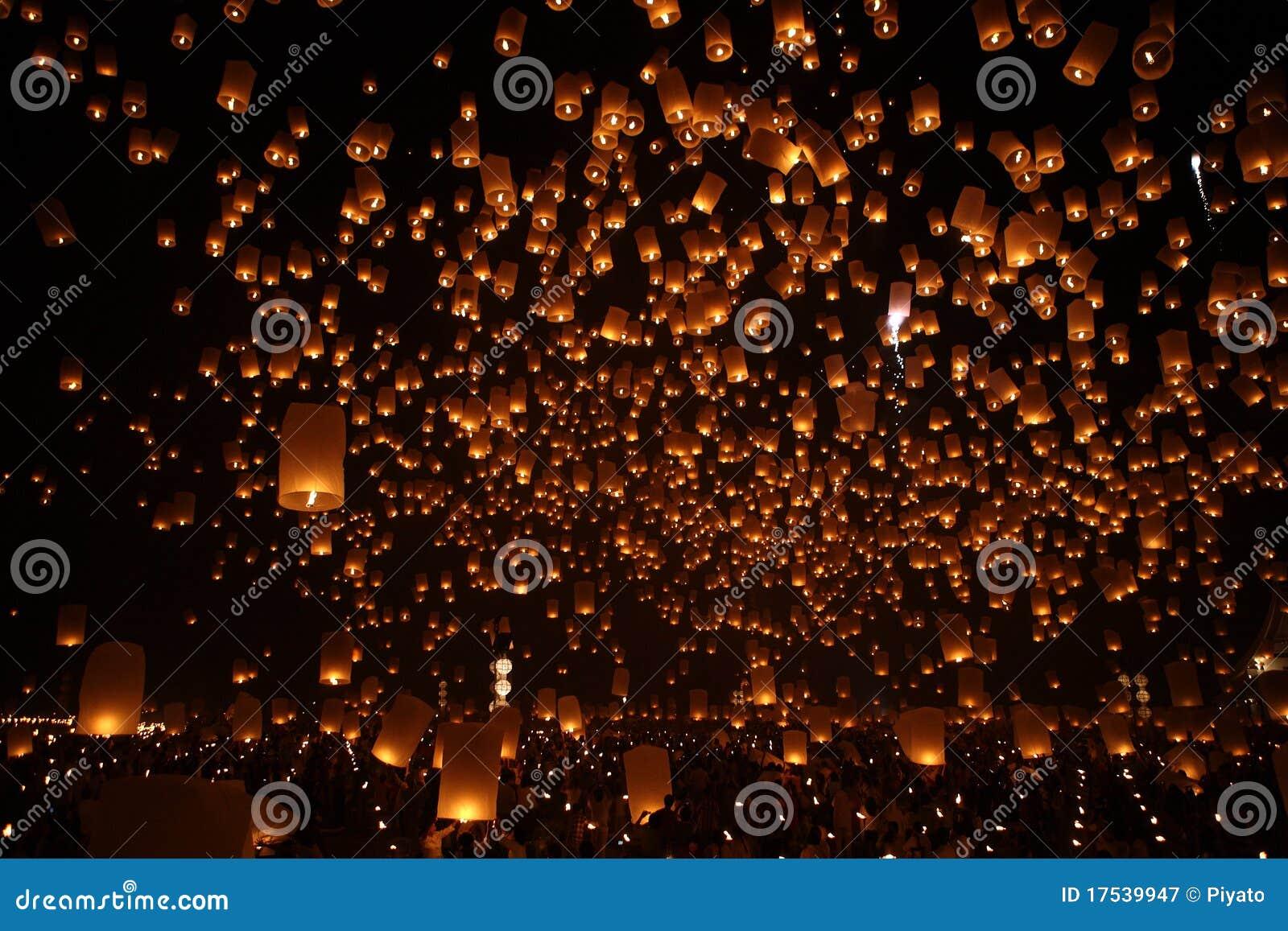 happy newyear christmas balloon traditional night