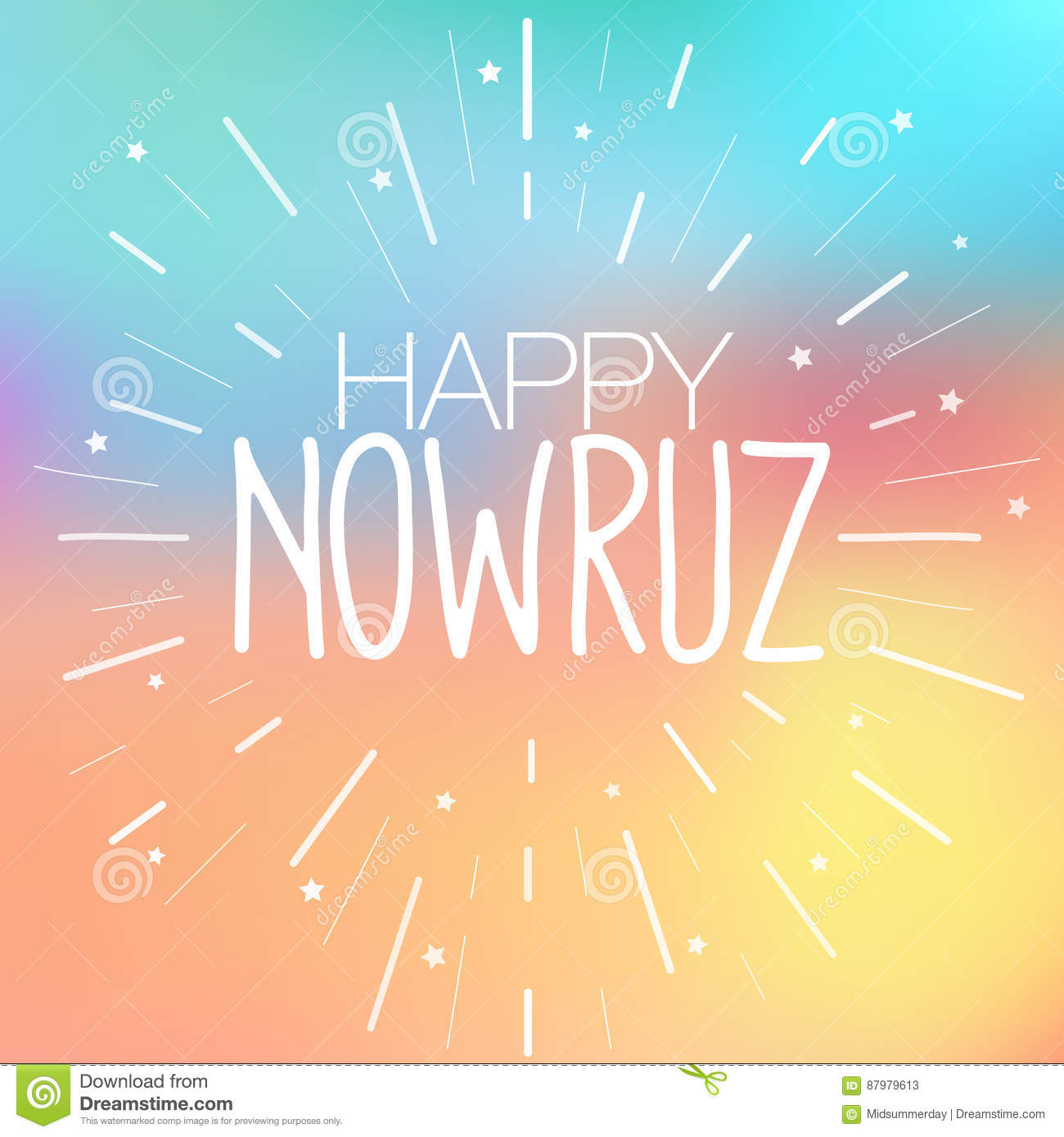 Happy nowruz greeting card iranian persian new year march happy nowruz greeting card iranian persian new year march equinox colorful vector illustration for holiday celebration kristyandbryce Gallery