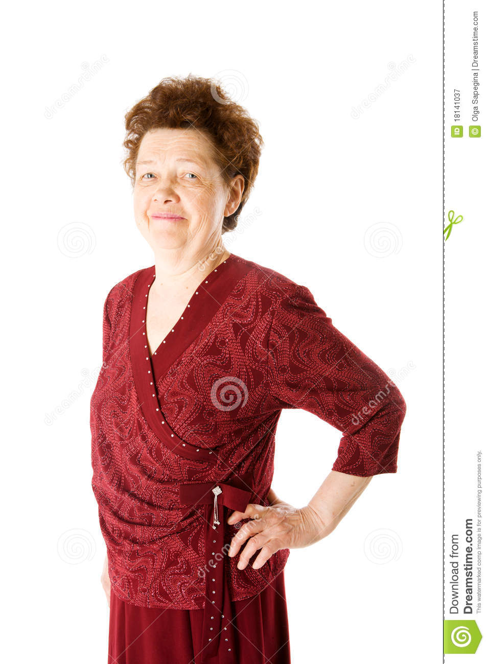 info for e12ad af154 Happy old lady stock image. Image of senior, woman, studio ...