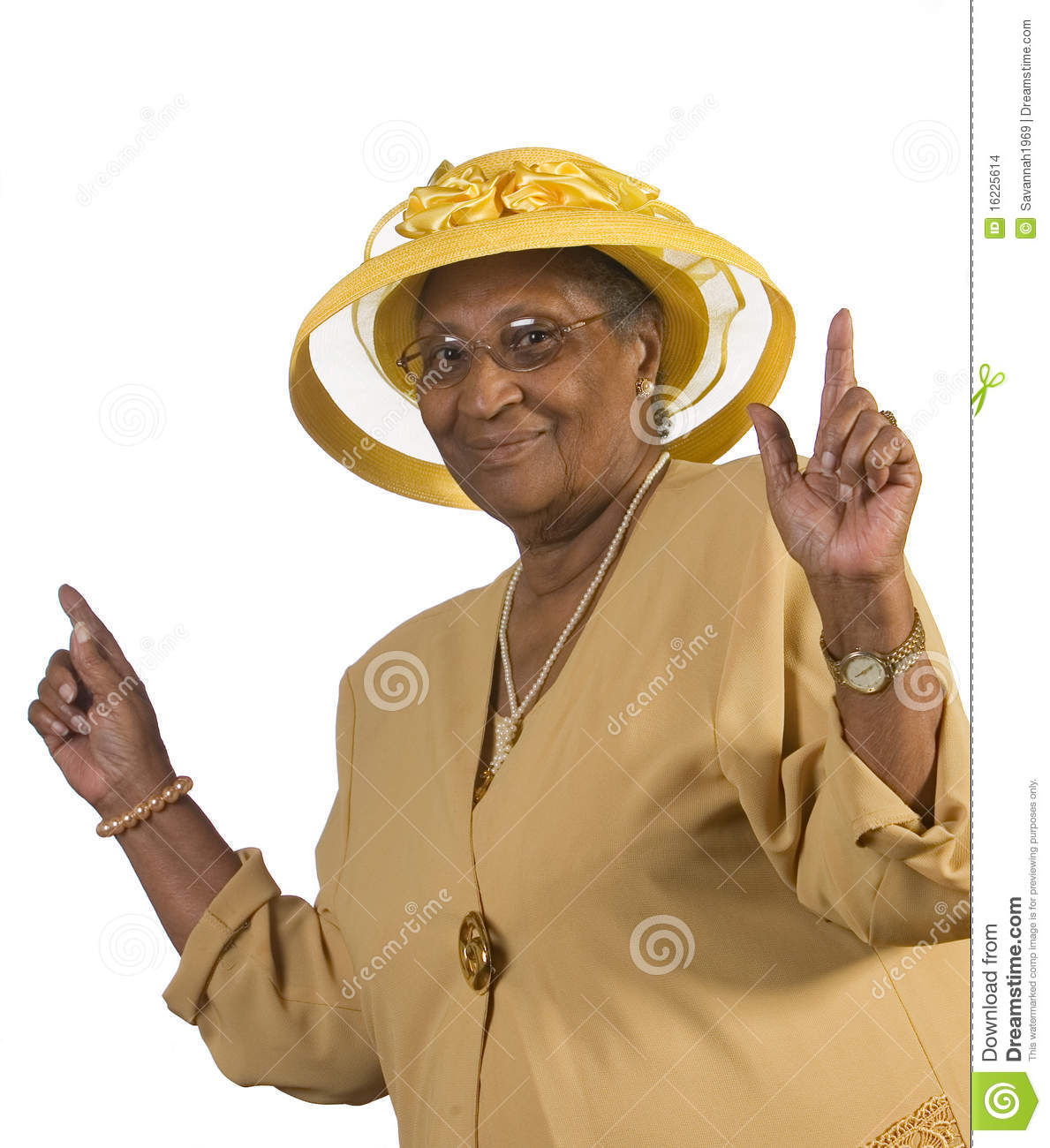 Old Black Rugby Dance: Happy Old Woman Dancing Stock Photo. Image Of Lady