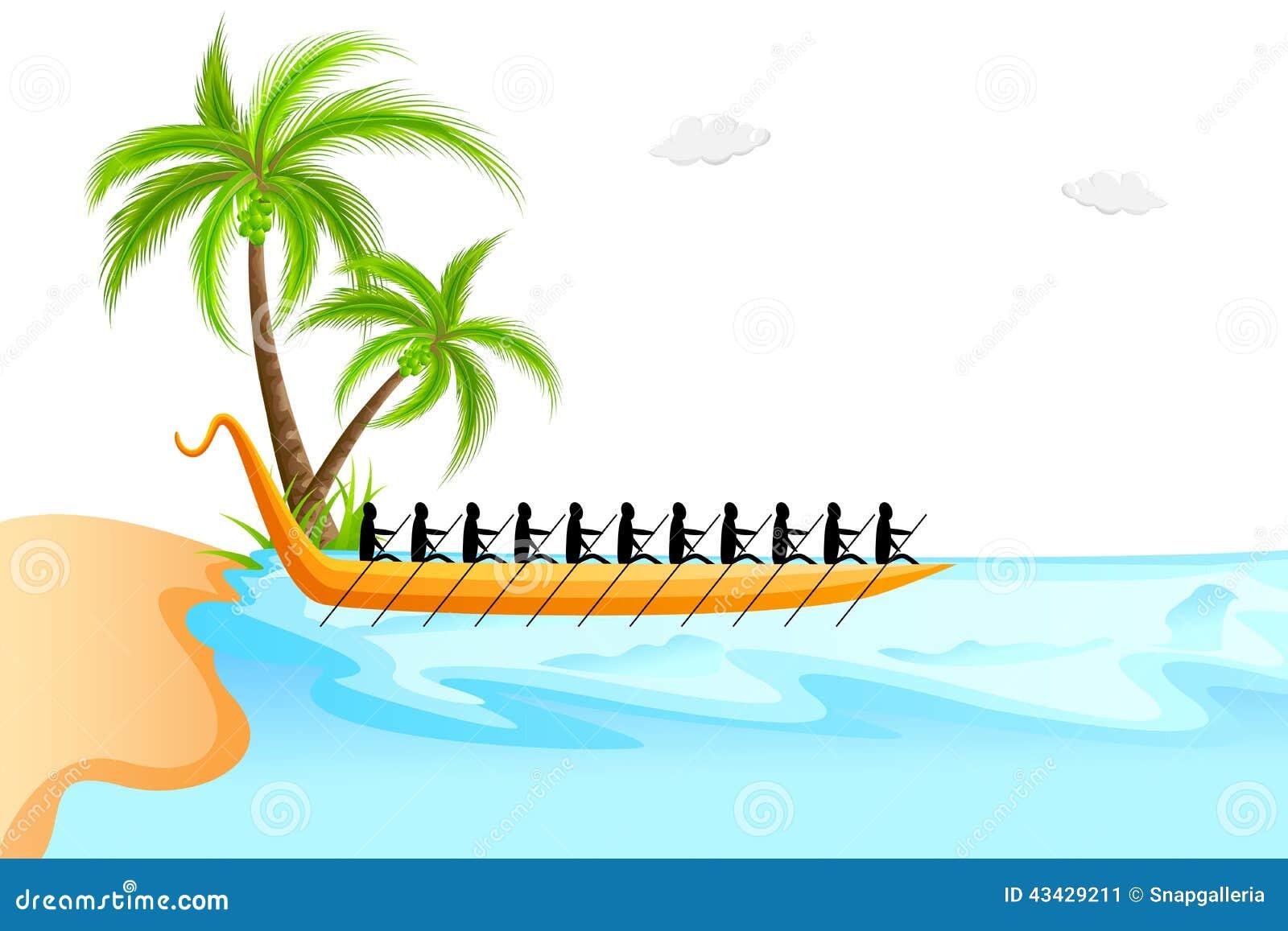 Happy Onam Background Stock Vector Image 43429211