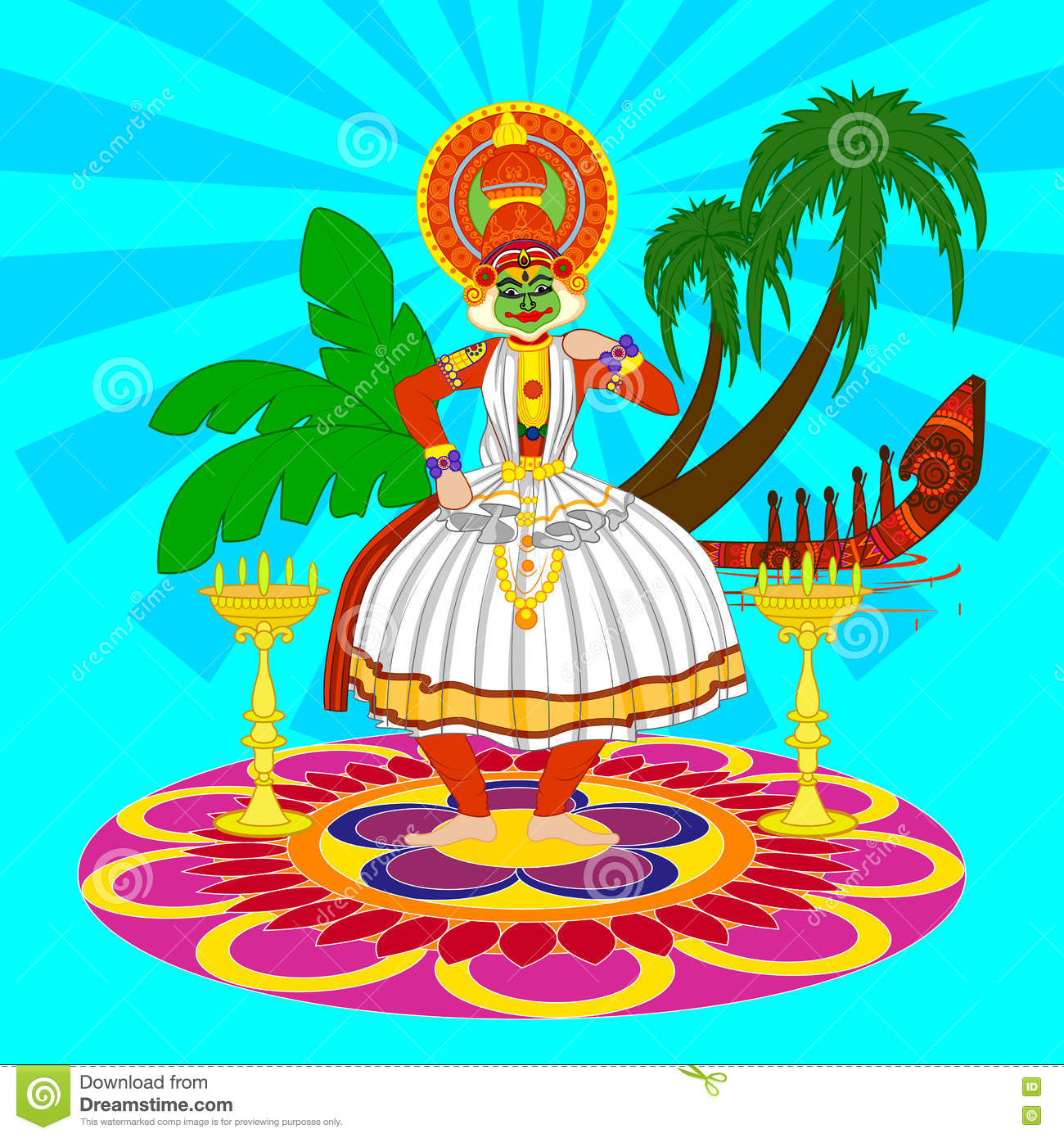 kathakali cartoons pictures illustrations - photo #47
