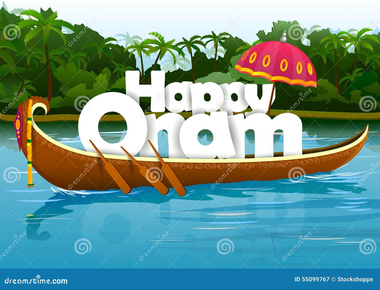 Happy onam wallpaper background stock vector illustration of asian happy onam wallpaper background kristyandbryce Image collections