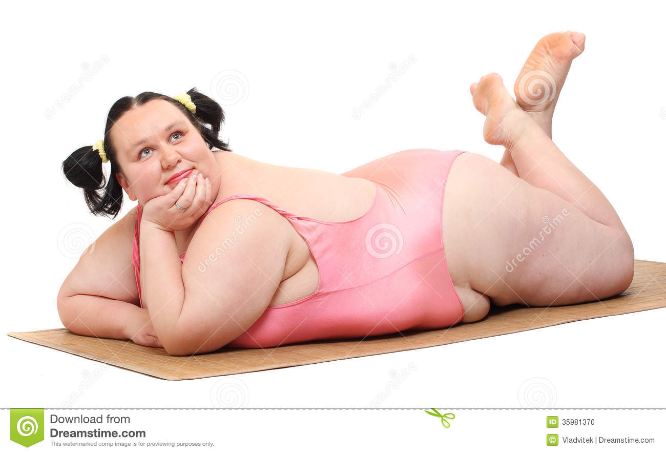 Good white chubby fat women