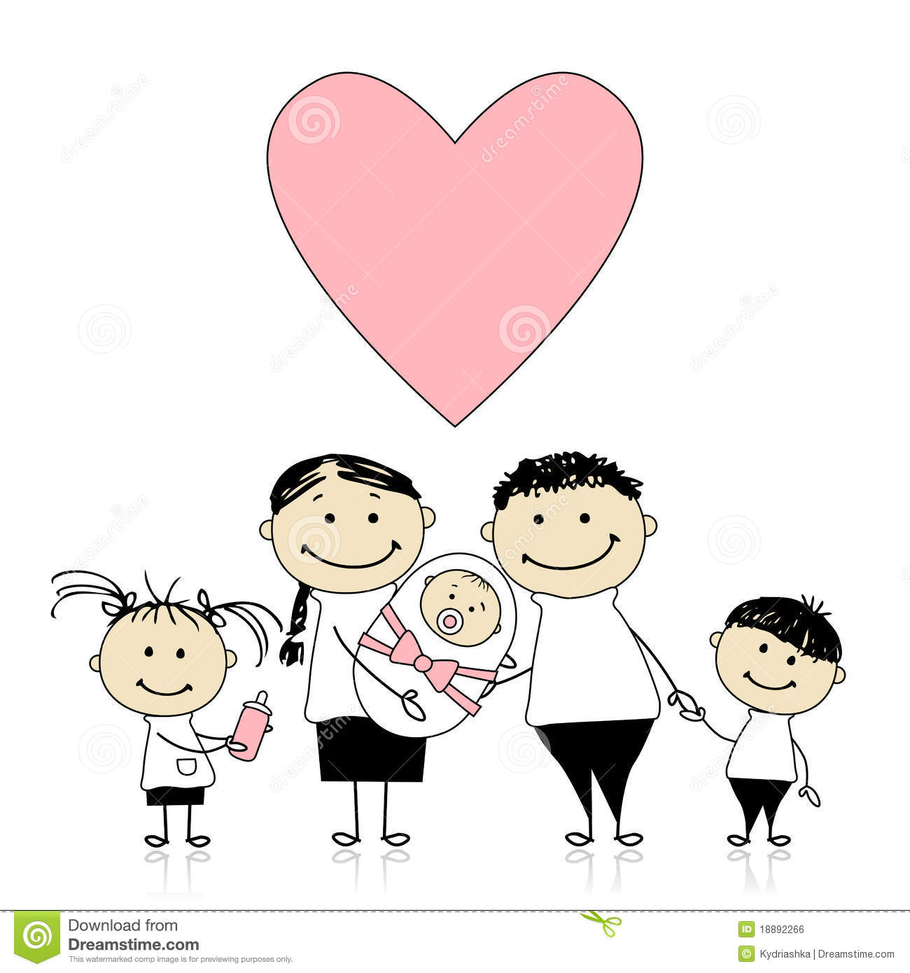 happy parents with children  newborn baby in hands royalty baby buggy clip art free blue baby buggy clipart