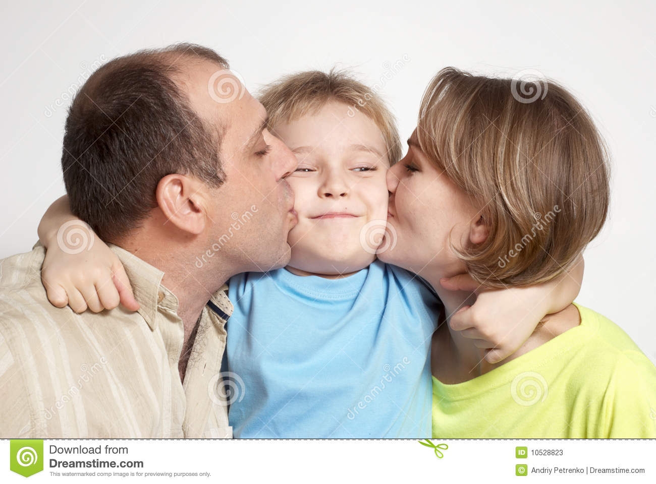happy parents kissing son stock photos image 10528823 face painting clip art for boys & girls face painting clipart free