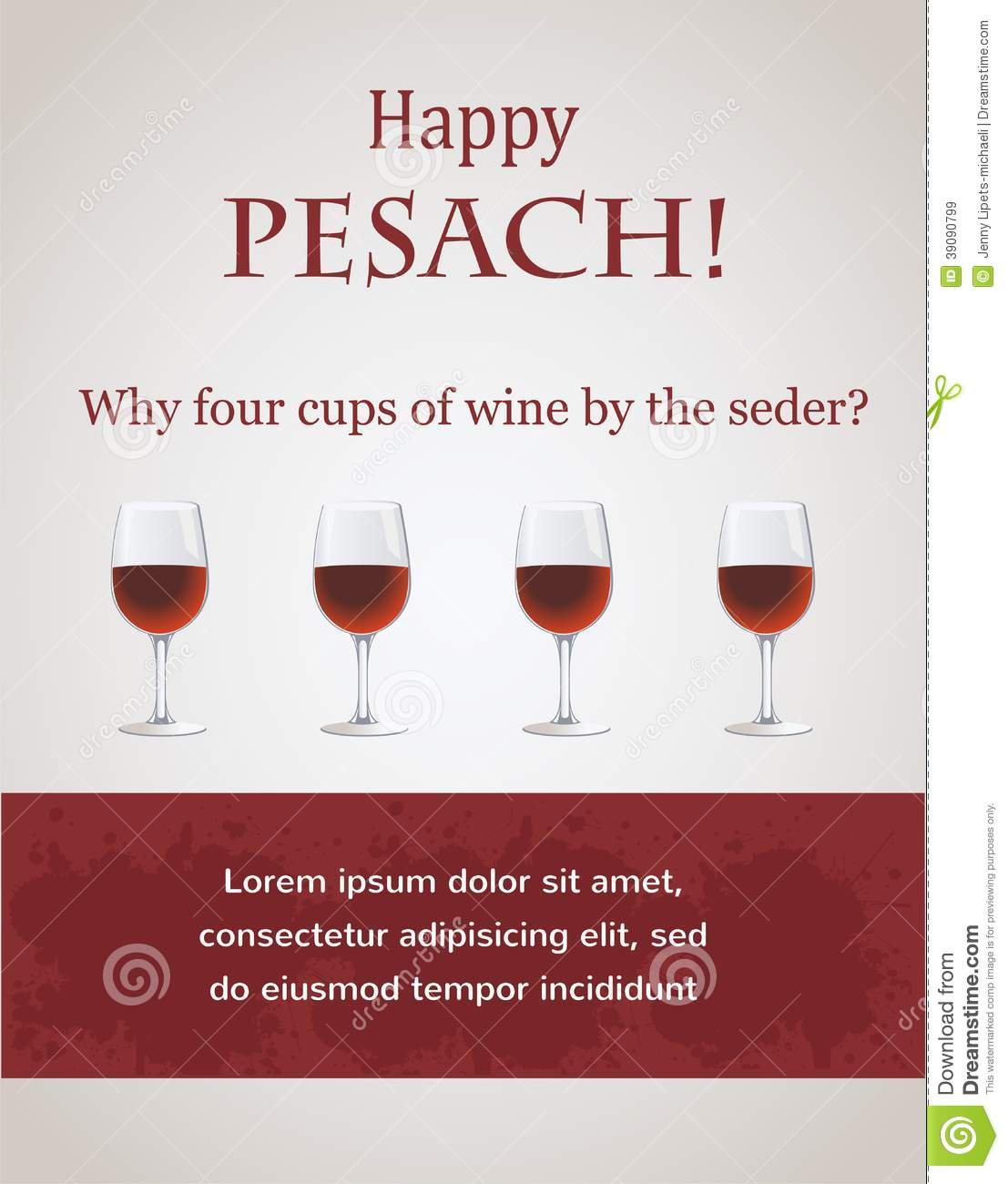 Free Old Time Passover Cards 82
