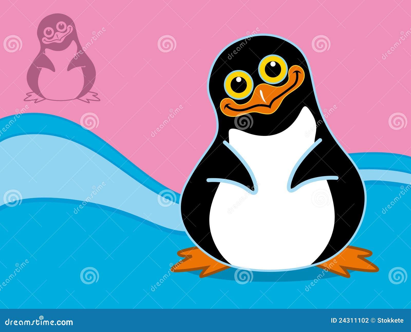 happy penguin stock photography   image 24311102