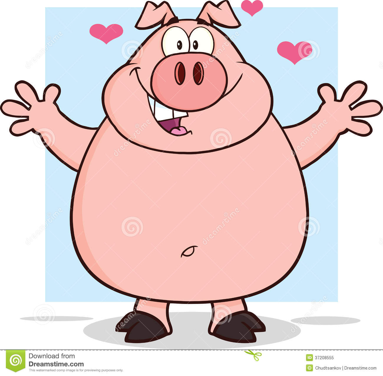 Male pig cartoon characters - photo#23