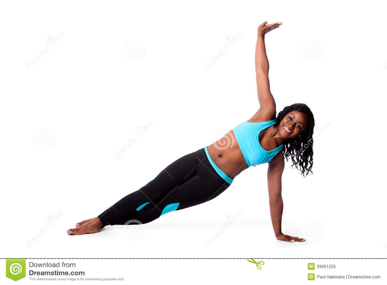 Happy pilates yoga exercise stock image image 39081255 for Floor workout