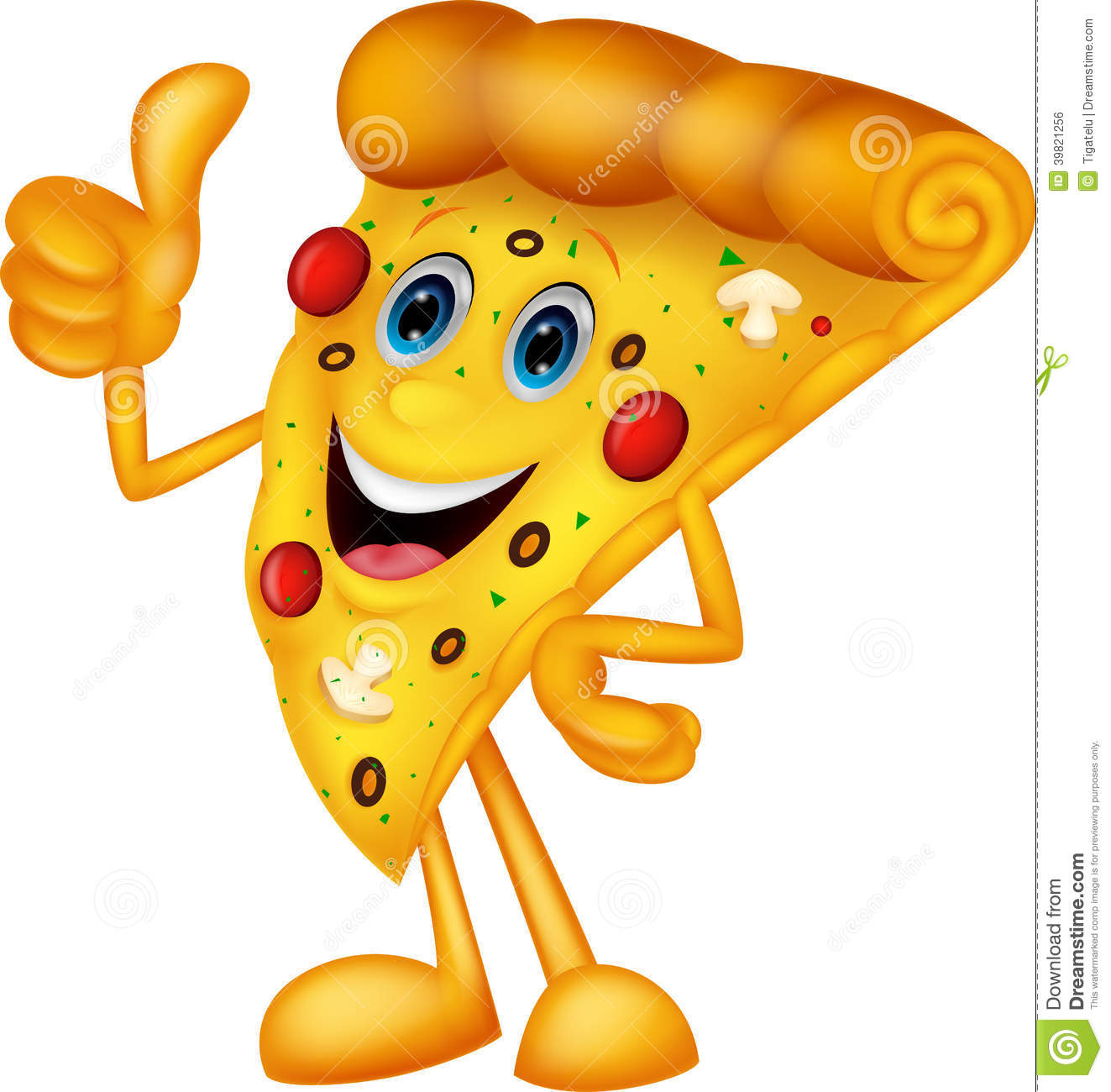 happy pizza cartoon with thumb up stock vector image free cute clipart for teachers free cute clipart wet dog