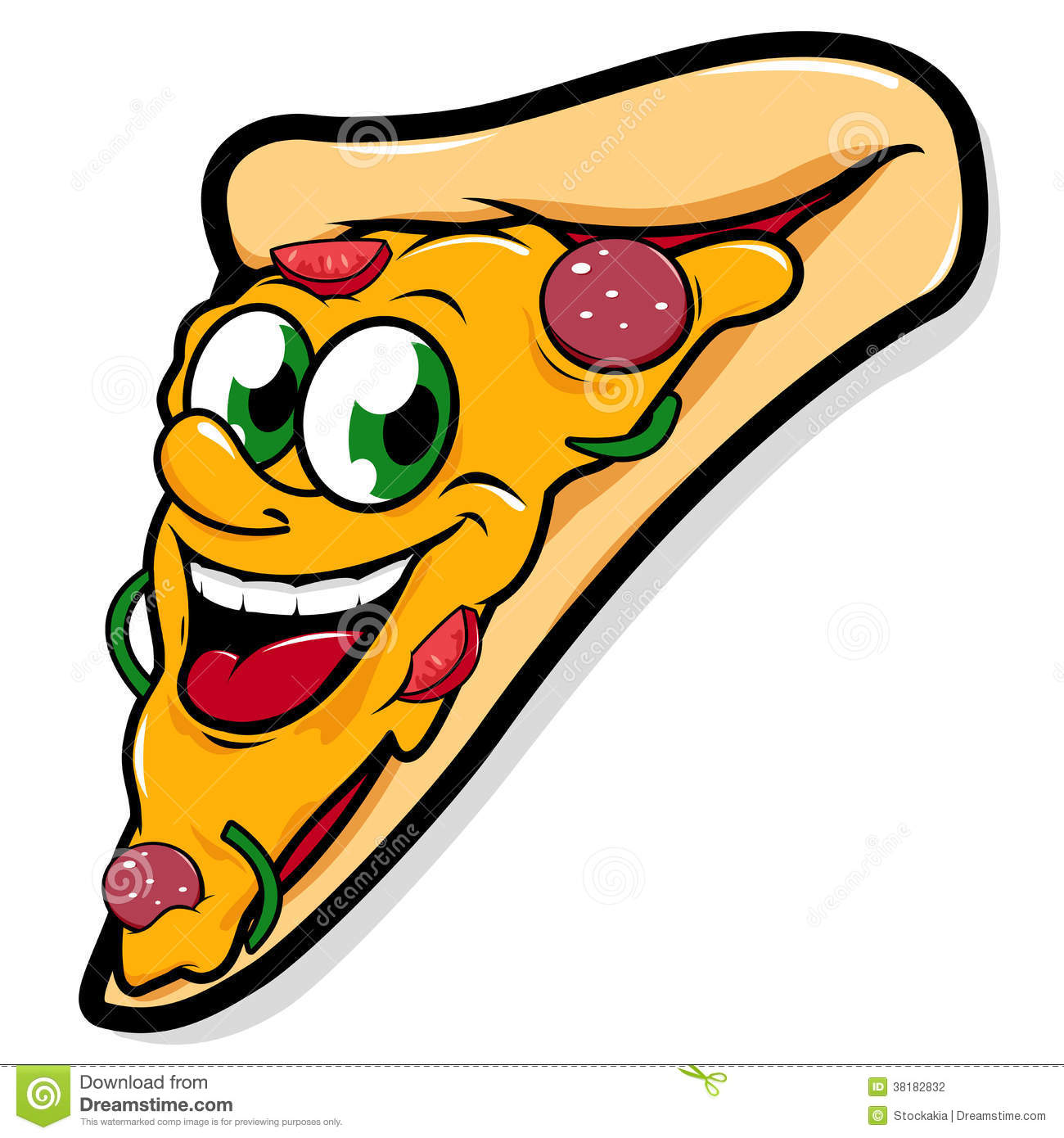 free clipart pizza party