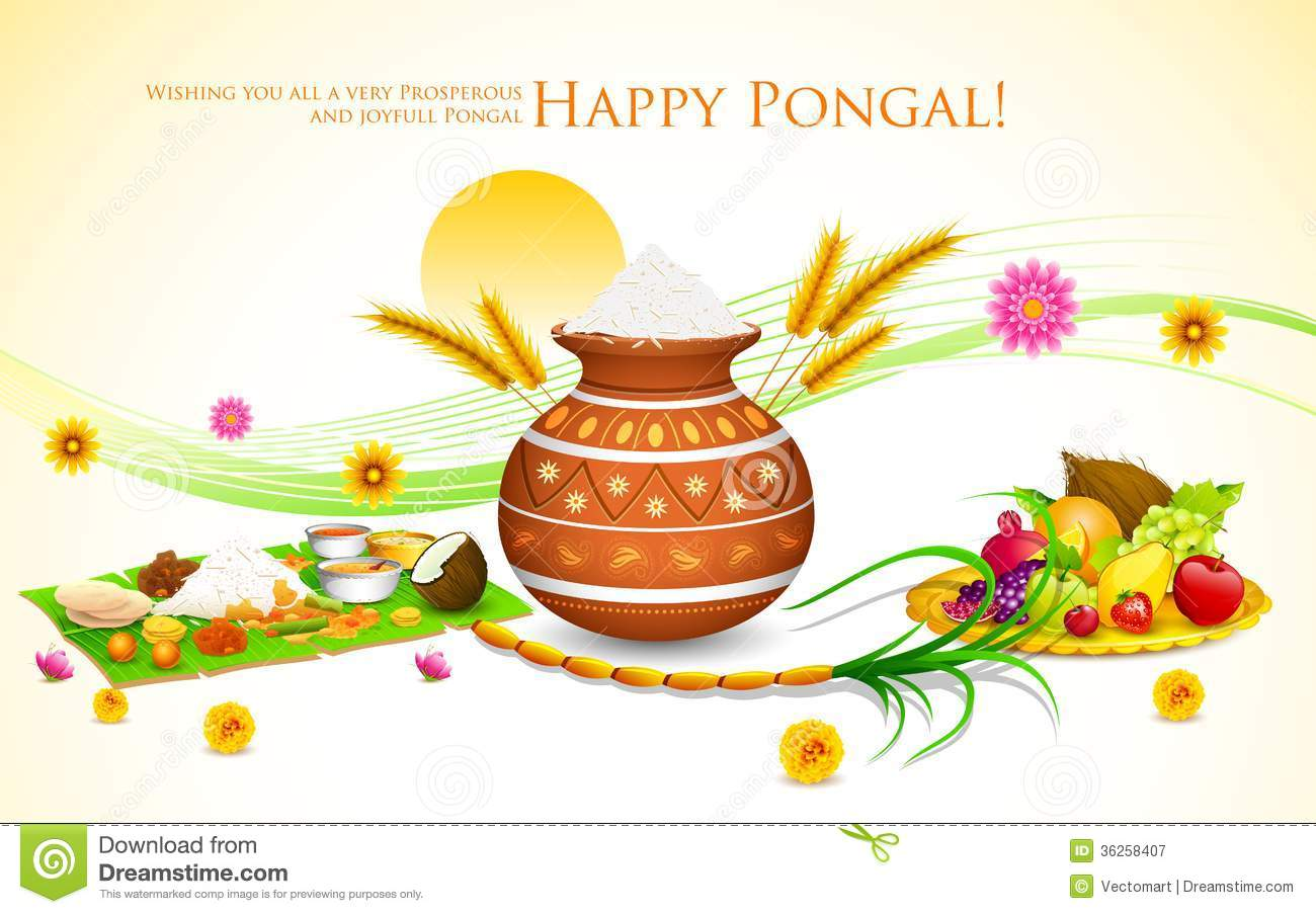 Happy Pongal Royalty Free Stock Photography - Image: 36258407