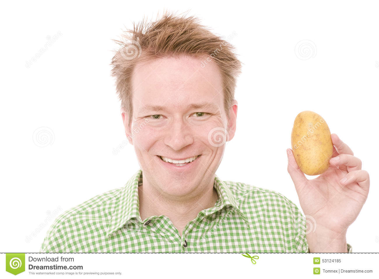 happy-potato-young-smiling-man-holding-i