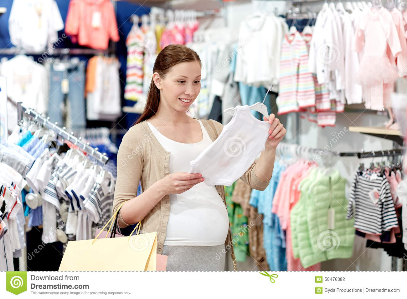 Baby Clothing Shopping