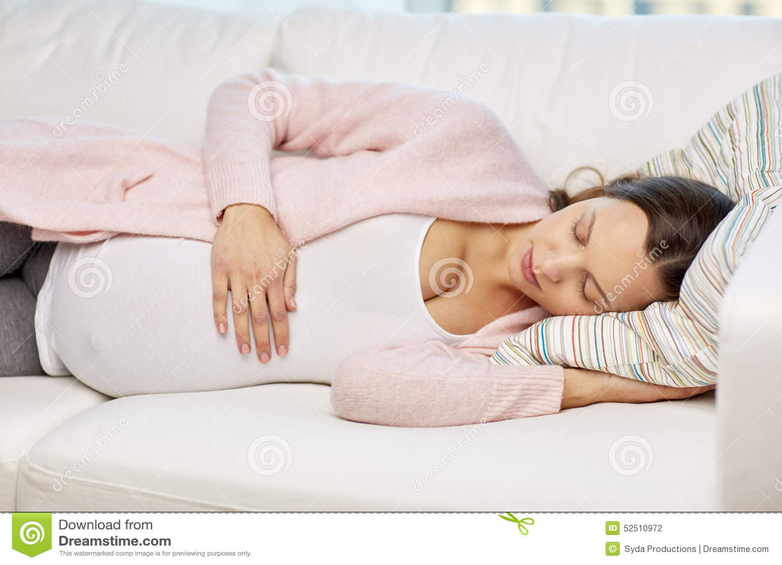 Беременности как спать беременной