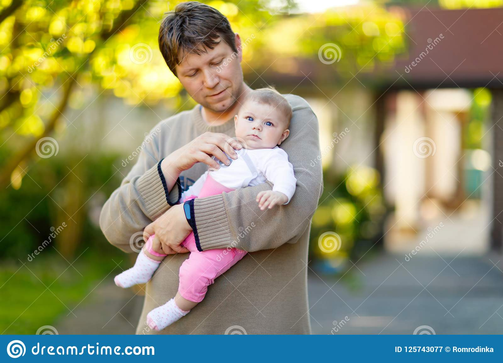 Suggest you Very young little girl loves daddy pity