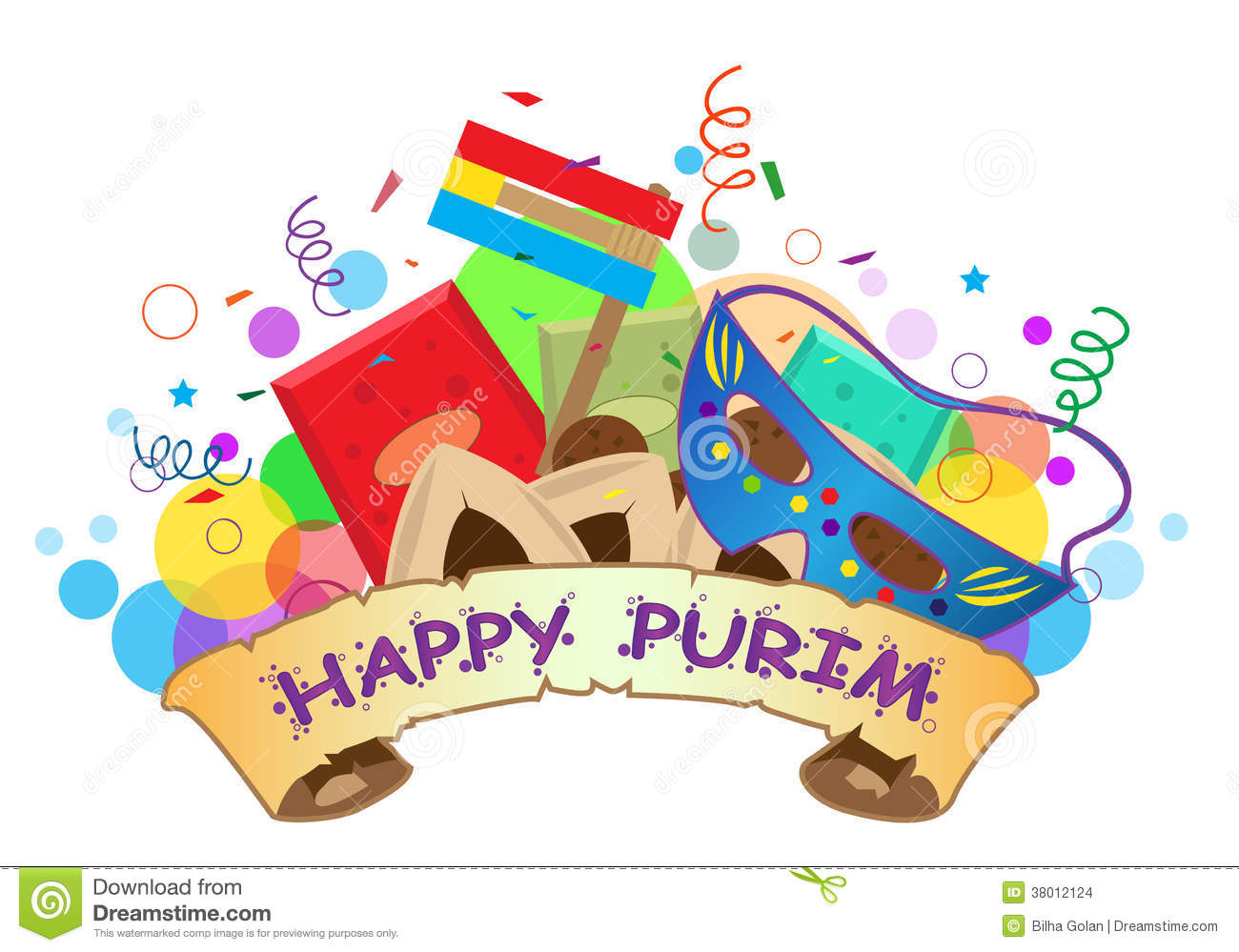 Clip Art Purim Clip Art purim stock illustrations 799 vectors happy banner images