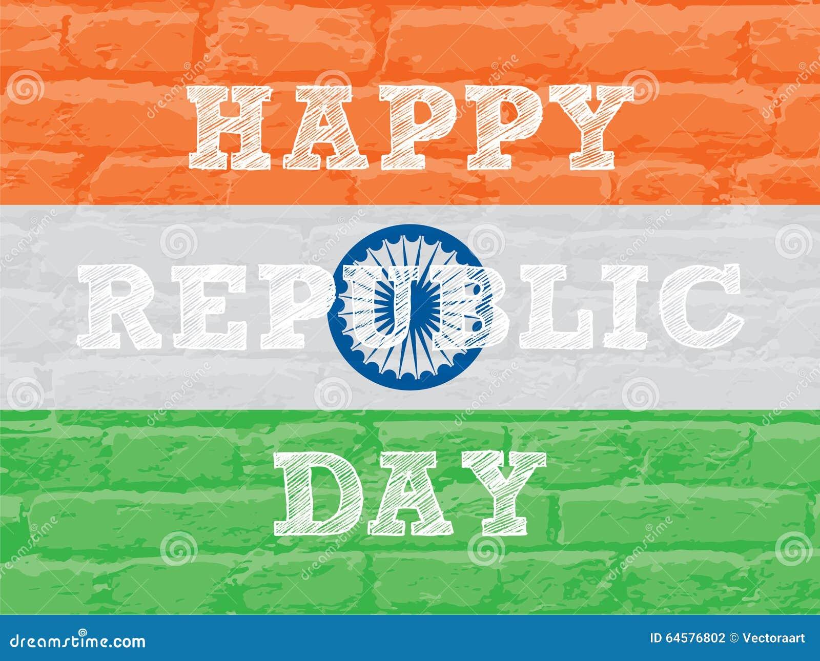 Happy republic day greeting design stock vector illustration of happy republic day greeting design m4hsunfo