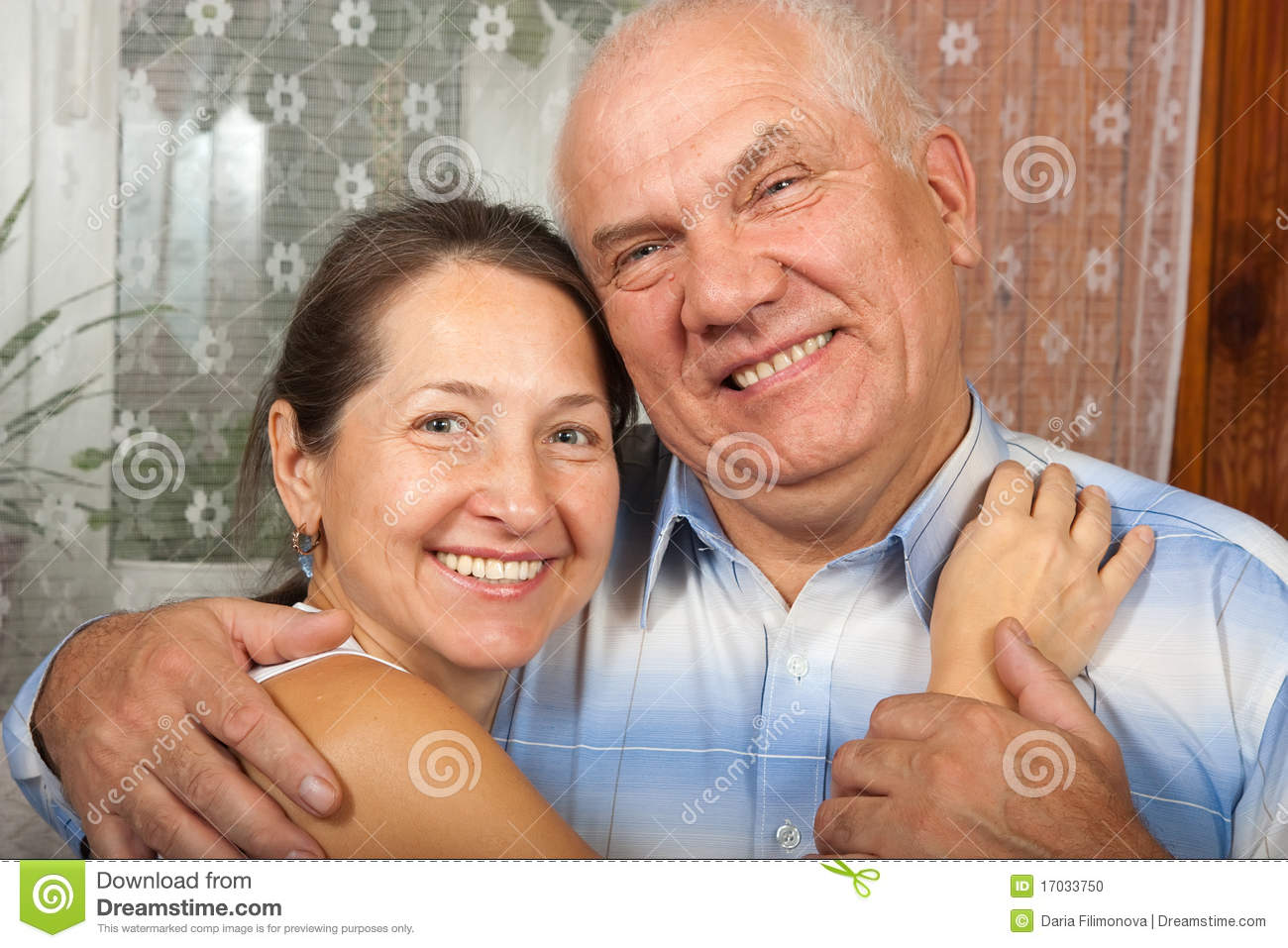 Happy retired couple stock photo image 17033750 for House plans for retired couples