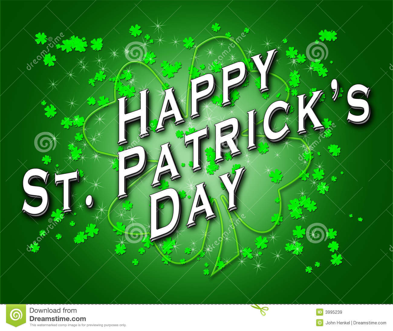 Happy Saint Patrick's Day Royalty Free Stock Images - Image: 3995239