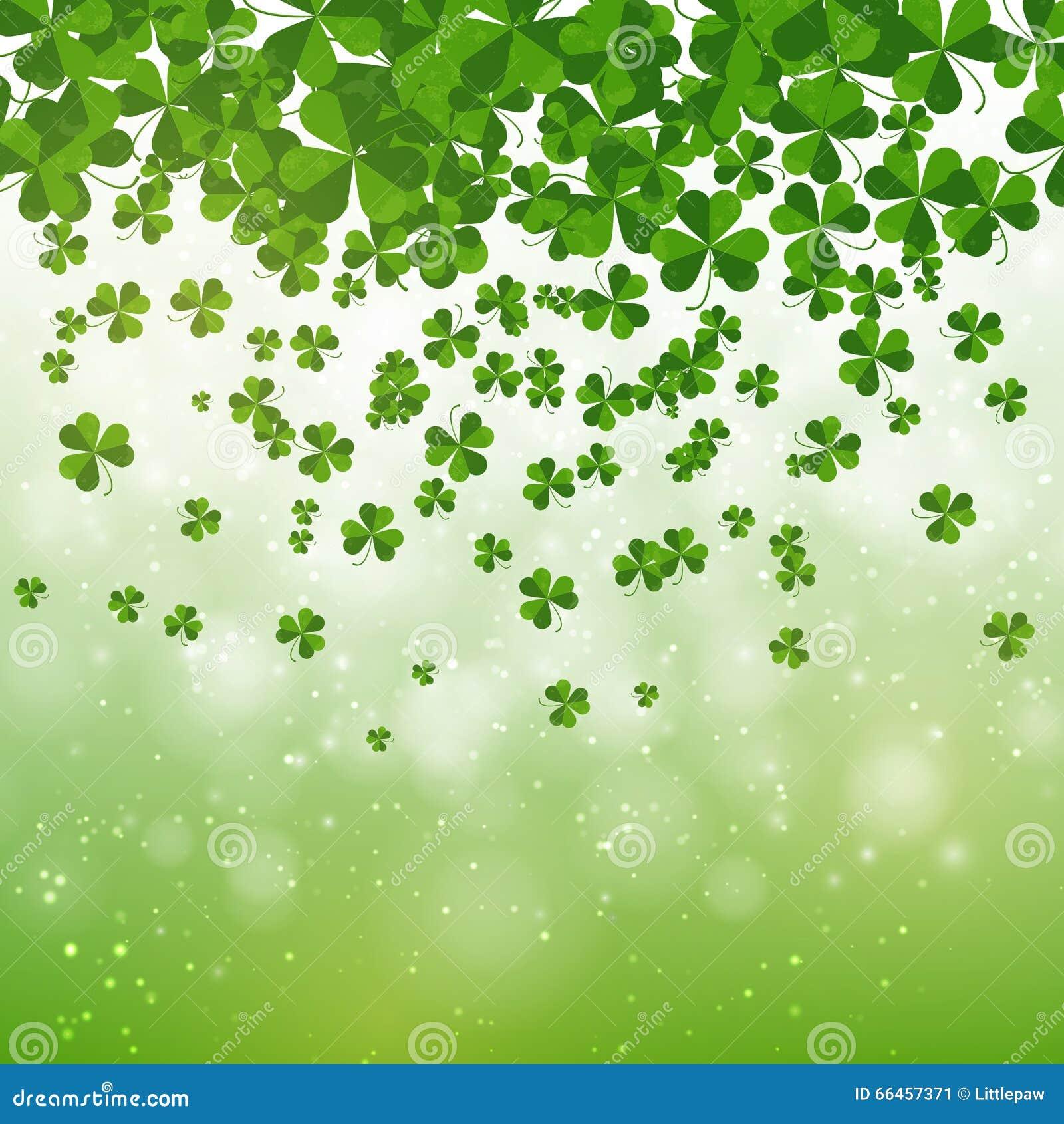 Stock Vector Happy Saint Patrick S Day Background Design Postcard