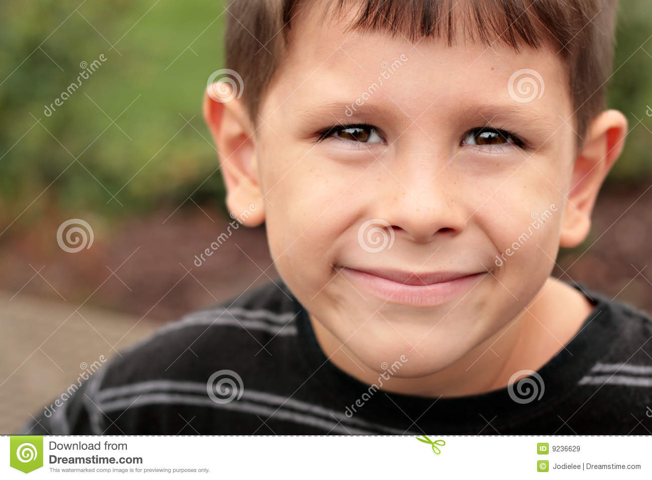 Happy School Child Joyful Face Royalty Free Stock Images ...