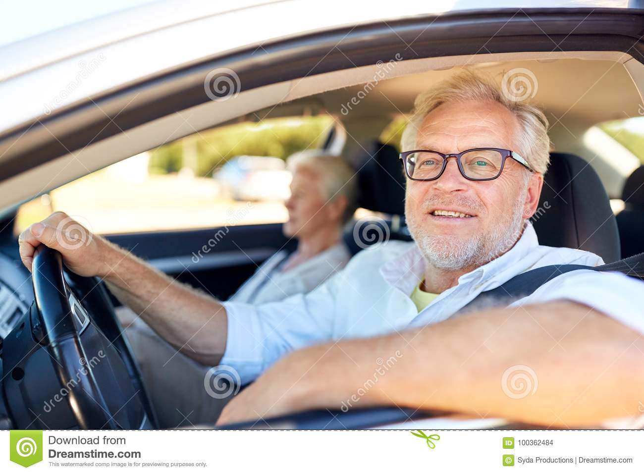 Mature driving car