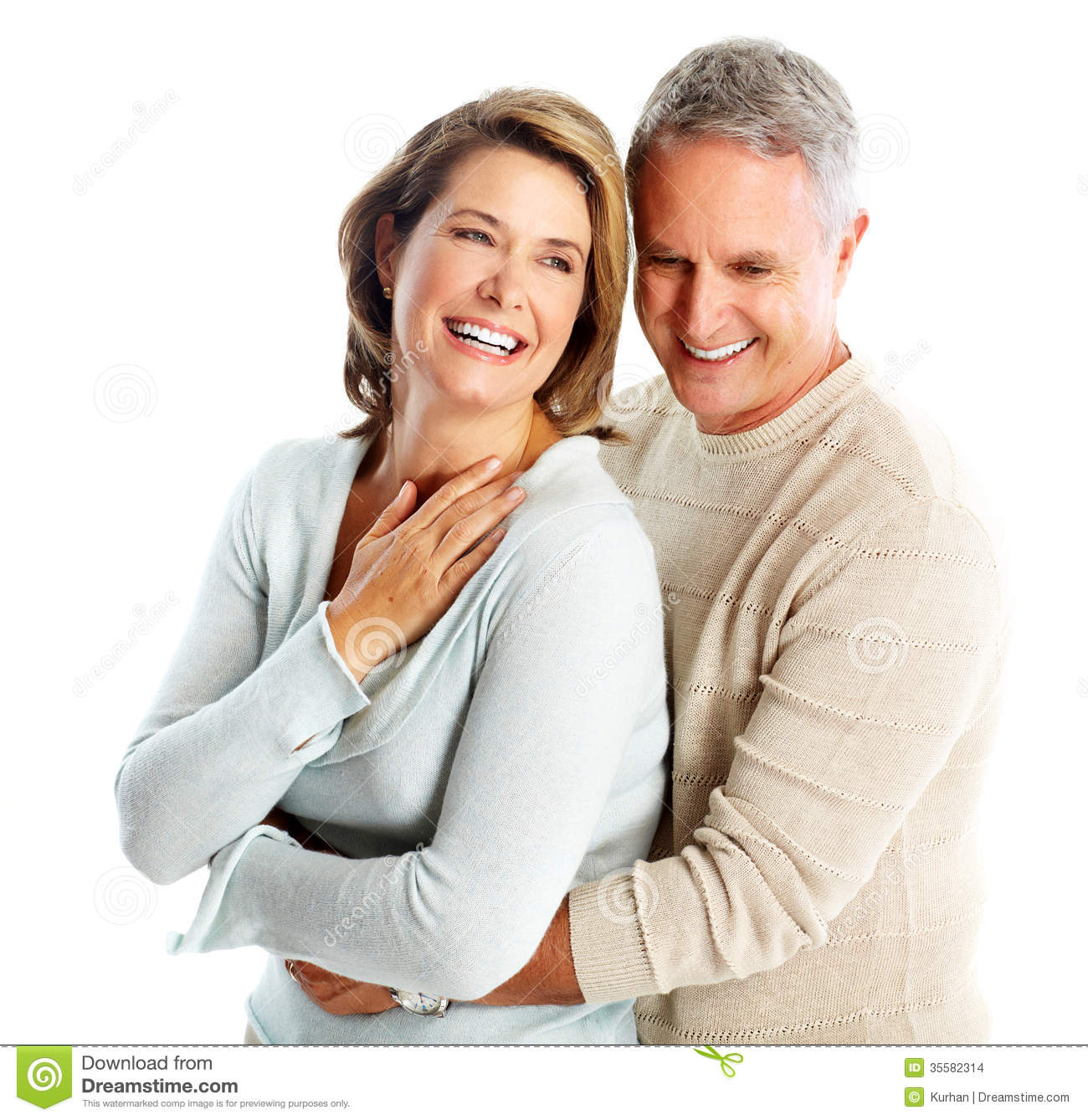 Happy Senior Couple In Love. Stock Images - Image: 35582314