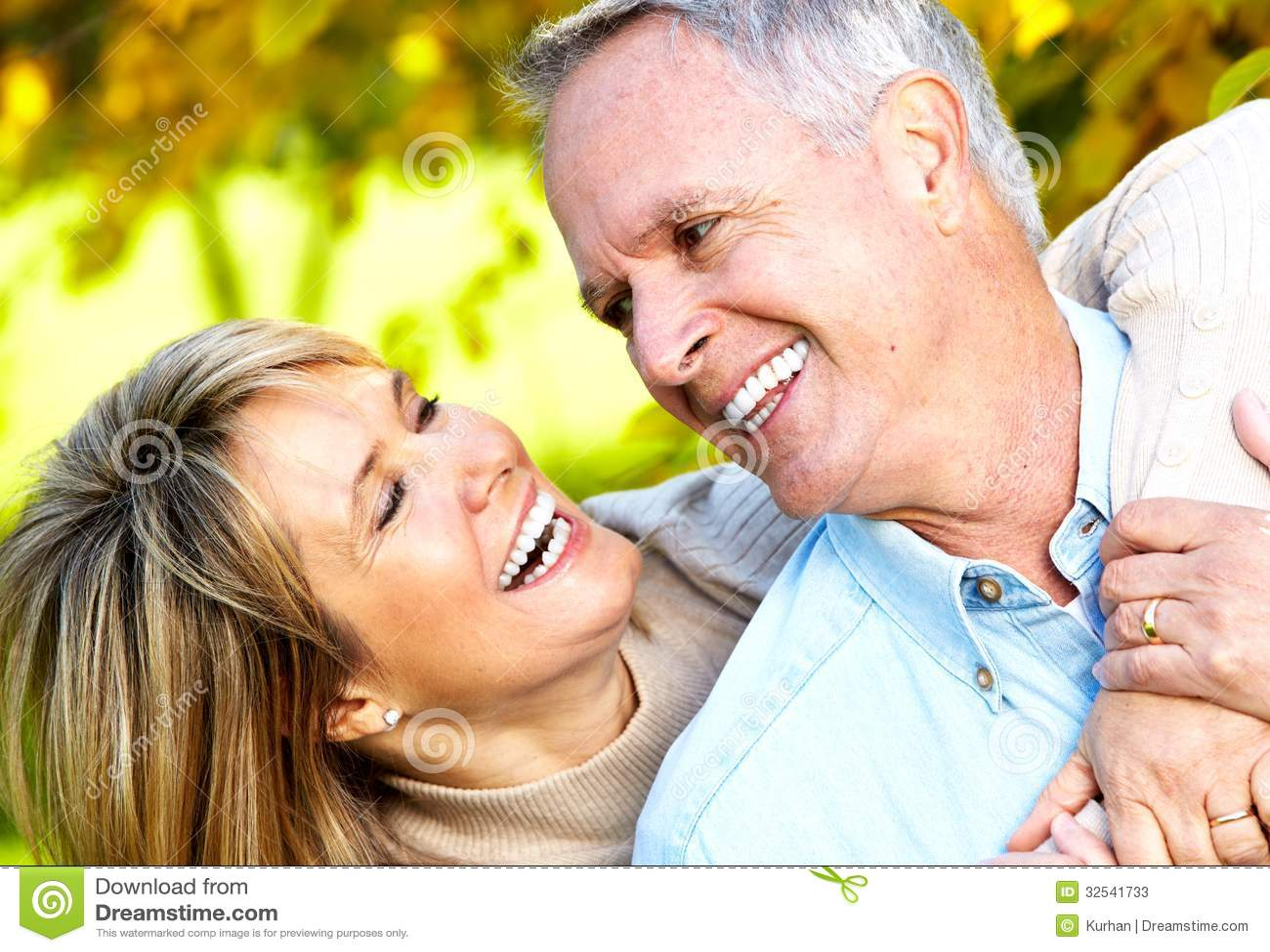 Happy Senior Couple. Stock Photos