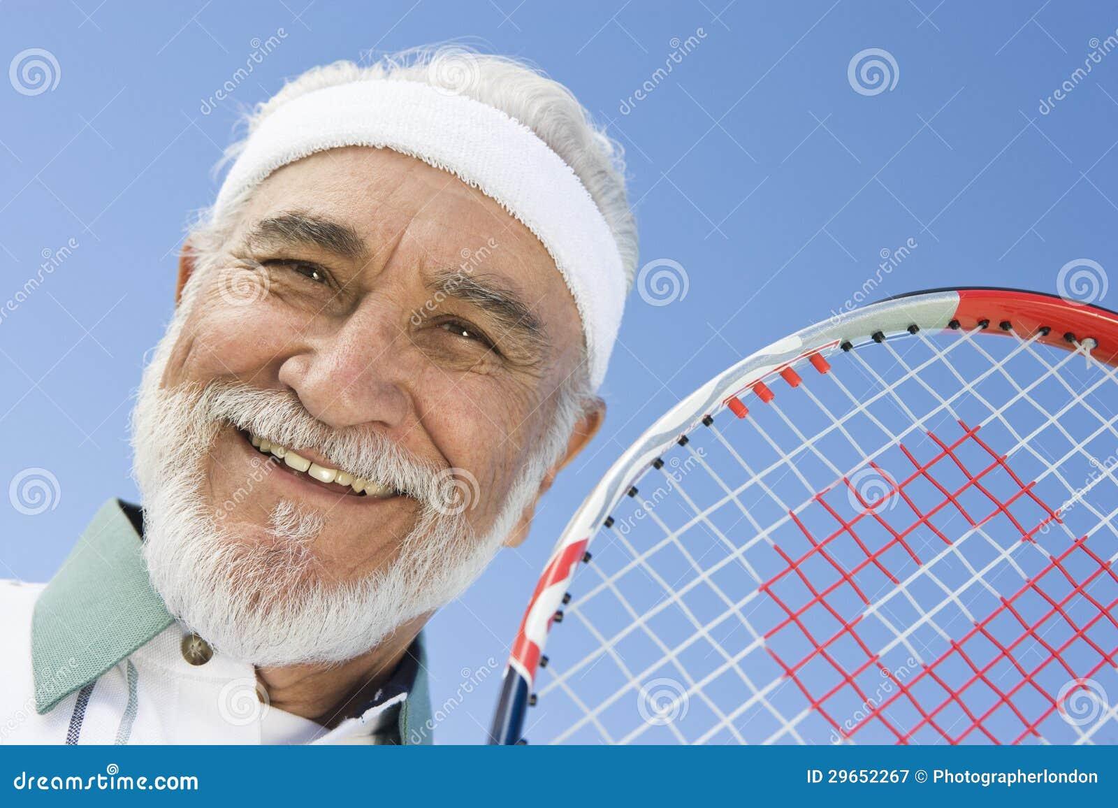 Hispanic Senior Tennis Player Stock Image Cartoondealer