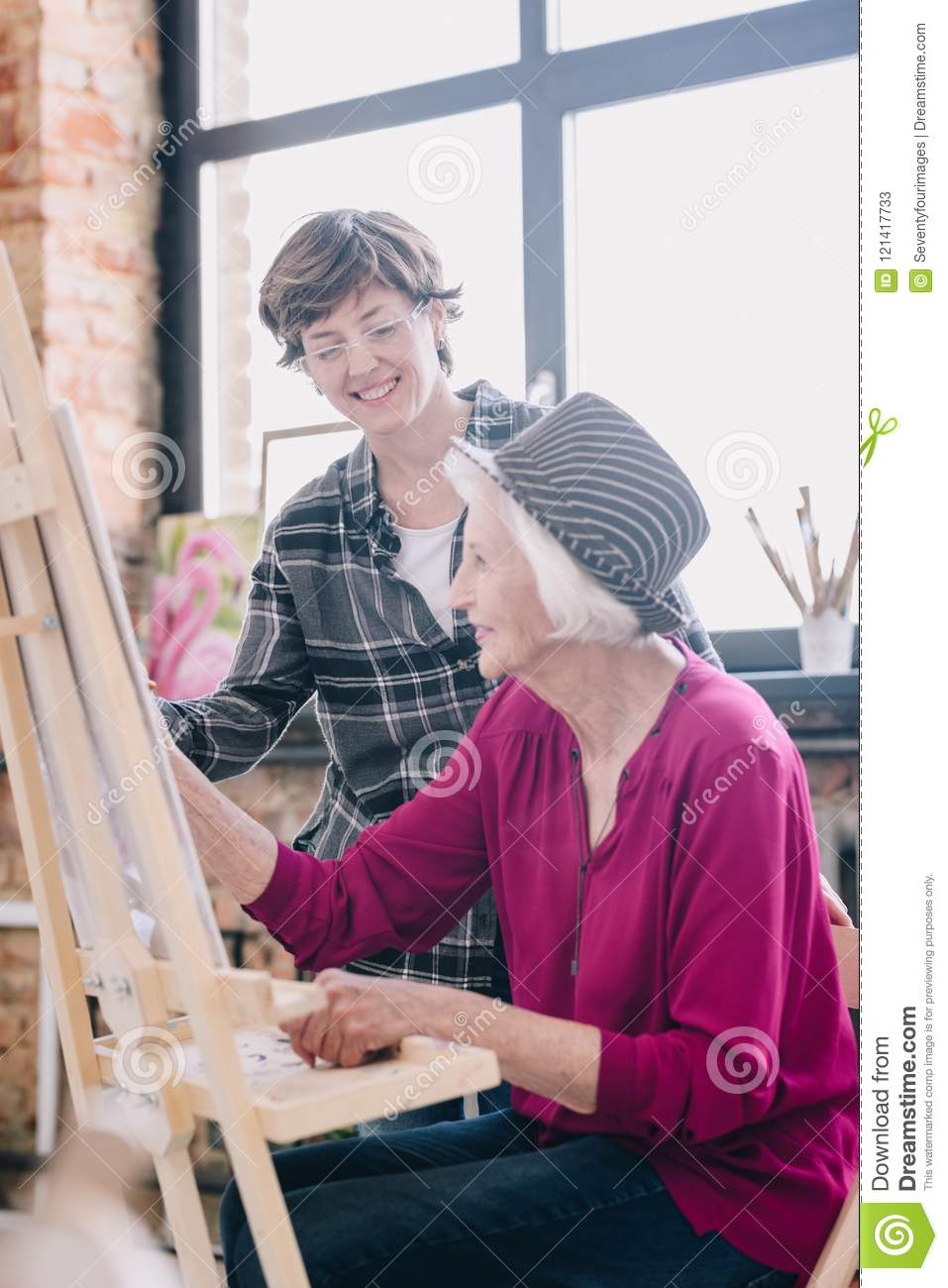 Something Women posing for art classes consider, what