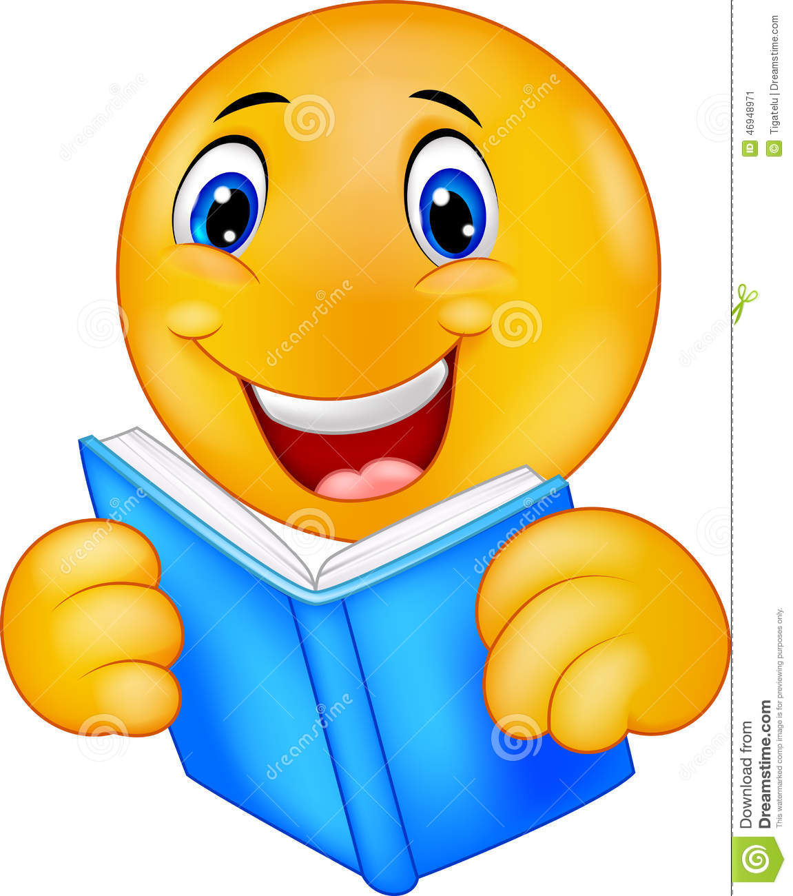 happy smiley emoticon reading book stock vector Crayon Box Clip Art Free free clipart crayon box