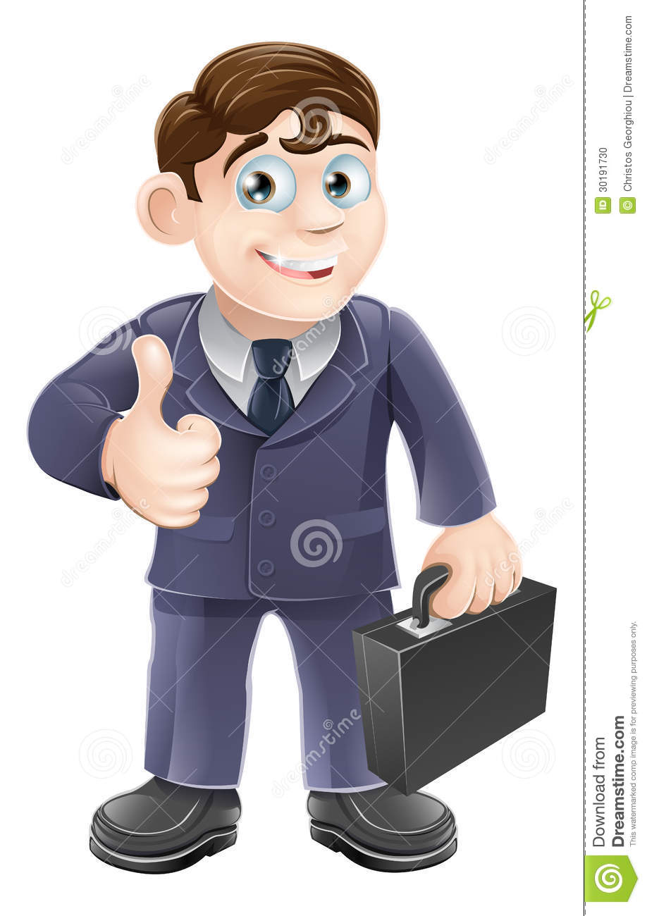 Cartoon Characters In Suits : Man in suit thumbs up drawing stock vector illustration