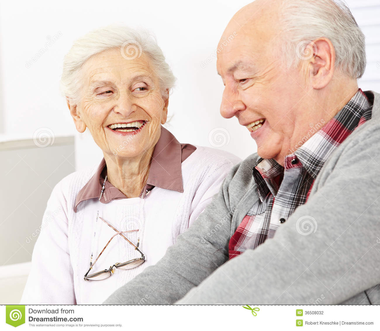 Happy smiling senior couple stock photography image for House plans for retired couples
