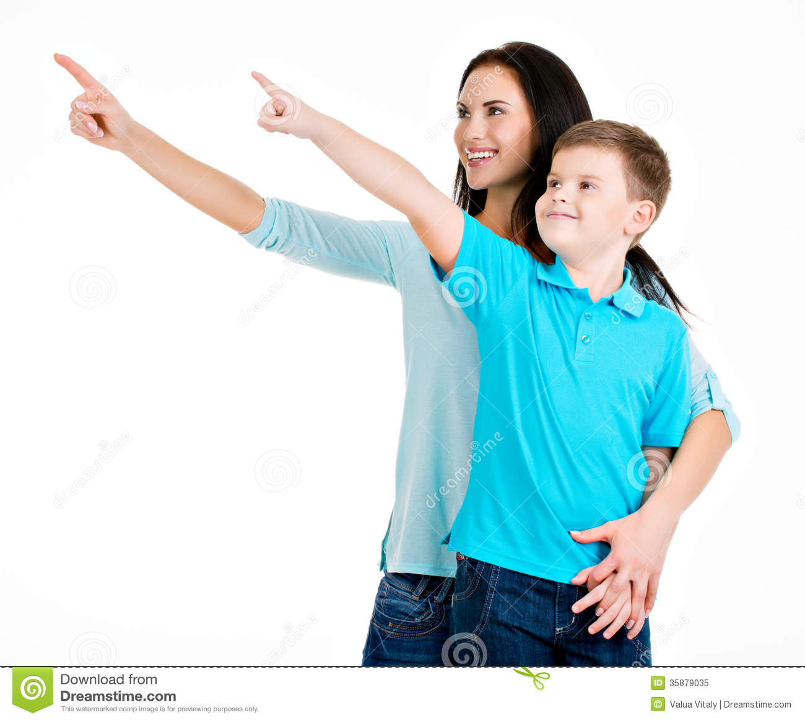Son fingers mom