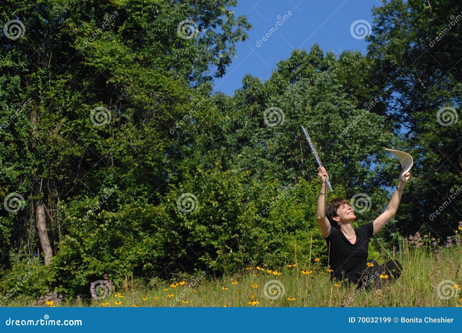 Happy Spirit stock image  Image of praising, radiant - 70032199