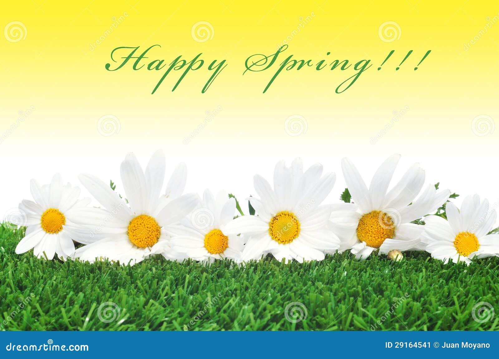 Happy spring stock image. Image of greeting, celebrate ...