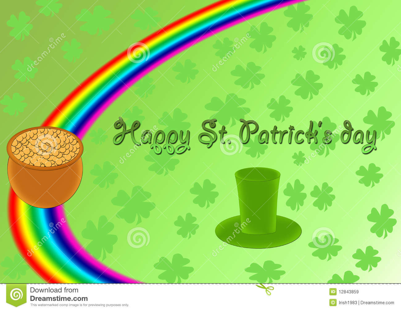 Happy St Patricks Day Royalty Free Stock Images Image