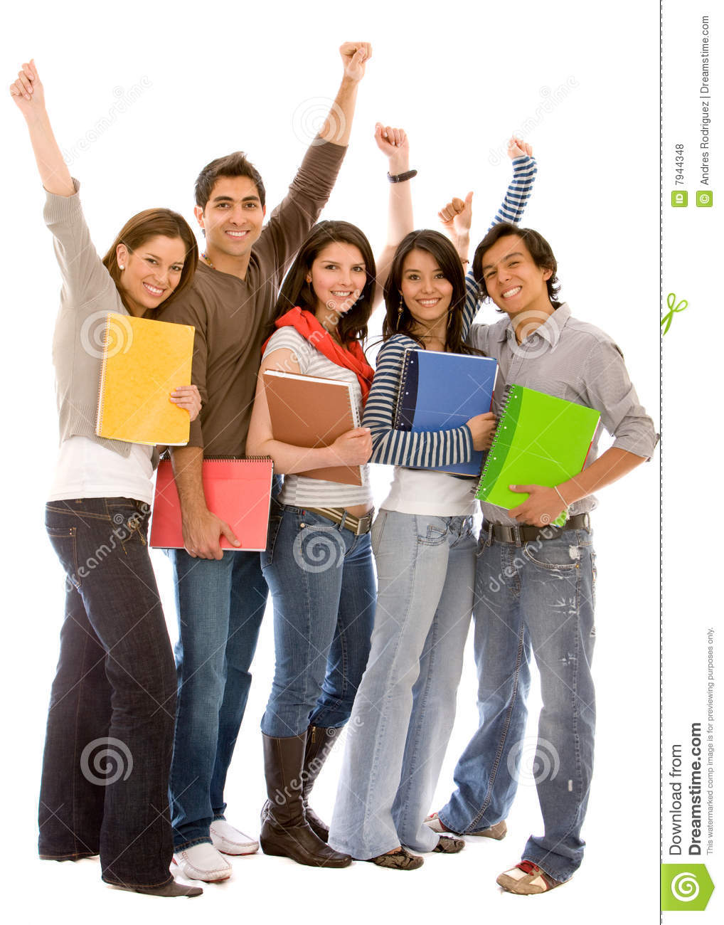 Happy Students Royalty Free Stock Photos - Image: 7944348
