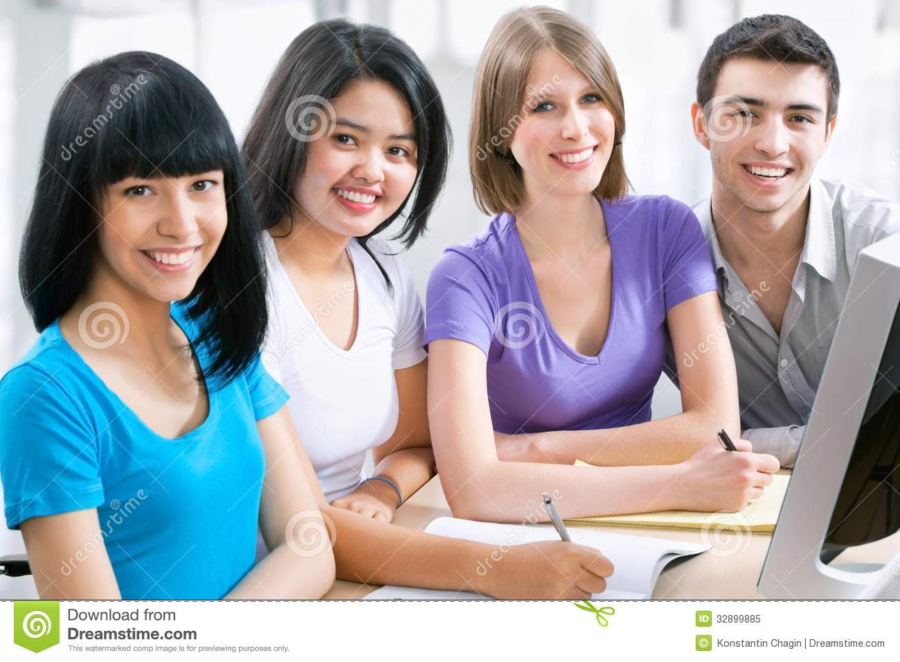 Happy students royalty free stock photo image 32899885