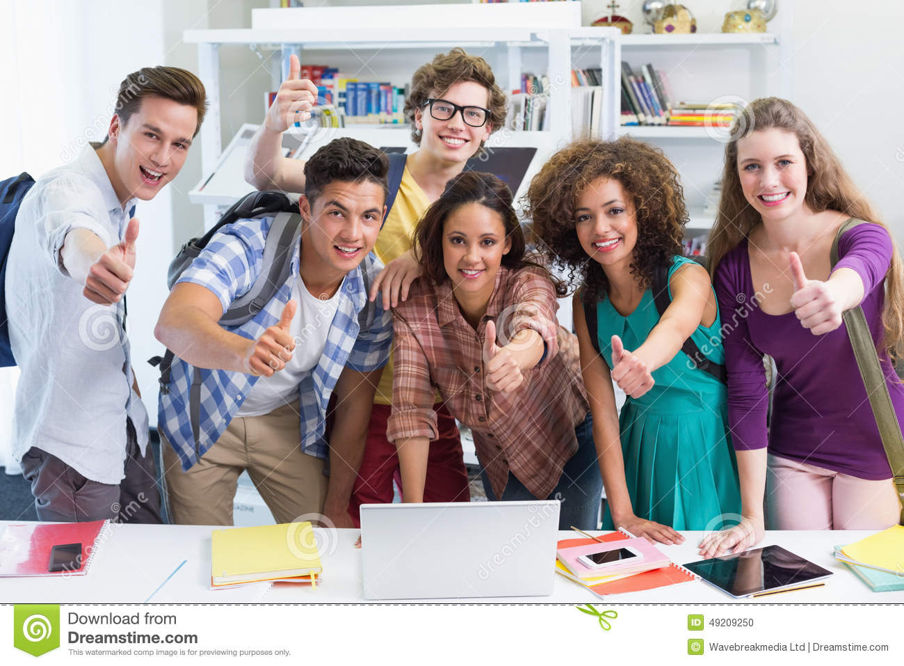 happy students working together laptop college 49209250 News On Convenient essay writing in united states Products