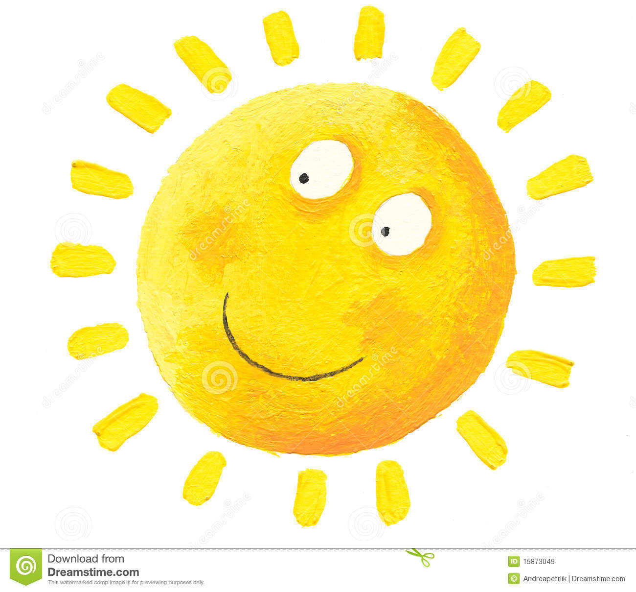 Happy Sun Royalty Free Stock Images - Image: 15873049