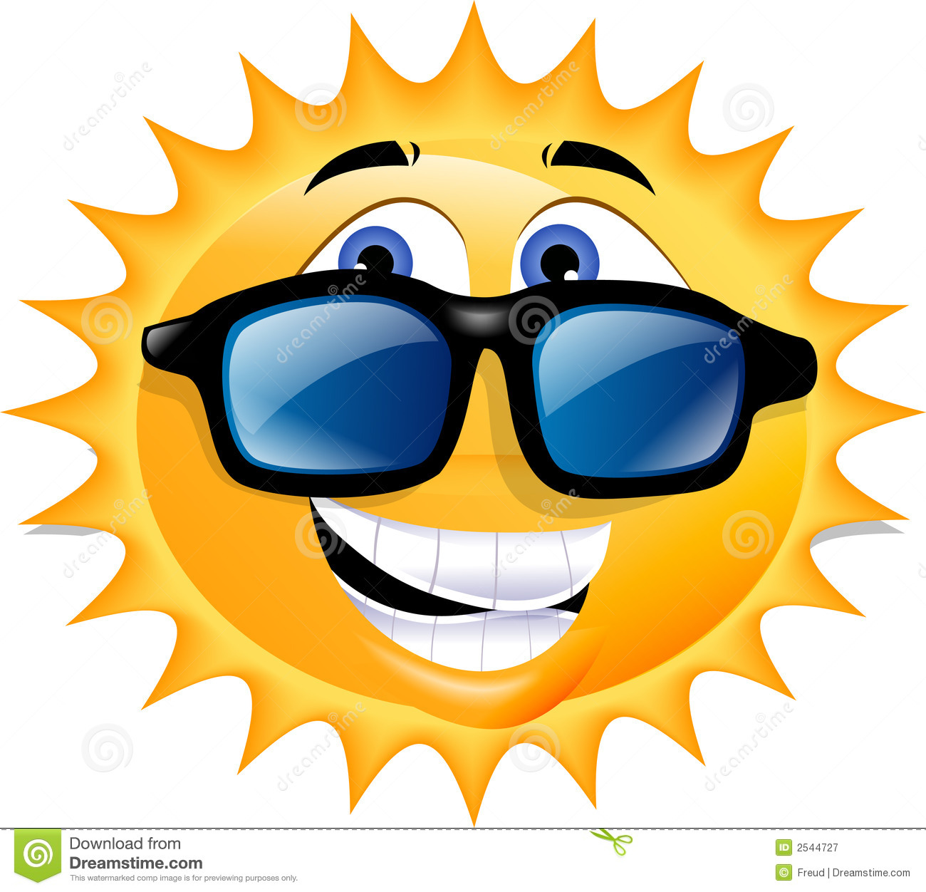 Happy sun stock illustration. Image of drawing, mouth ...