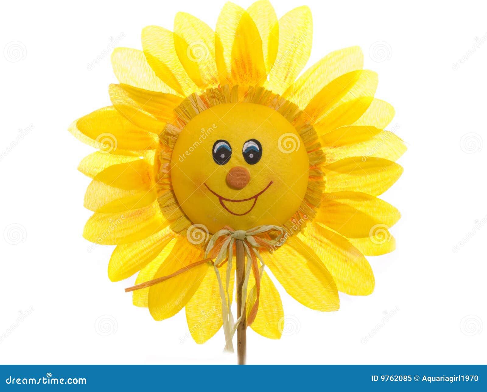 Happy Sunflower Royalty Free Stock Photo - Image: 9762085