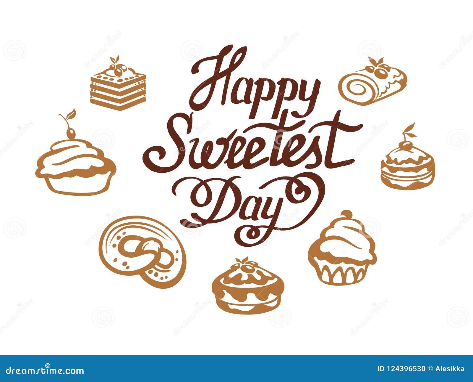 Happy Sweetest Day Stock Vector Illustration Of Illustration